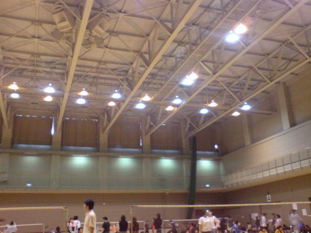 札幌で試合中